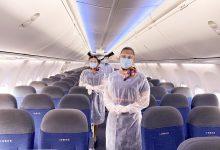 صورة فلاي دبي تعتمد أحدث التقنيات الخاصة لتعقب دورة التنظيف في مقاعد الطائرات