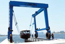صورة خدمة رفع القوارب واليخوت اصبحت متاحة للجميع في دبي