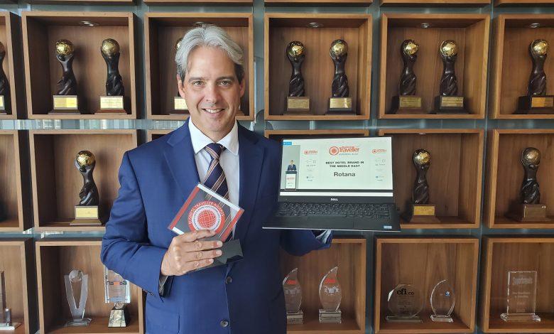 روتانا تحصل على جائزة أفضل علامة فندقية في الشرق الأوسط للعام 2020