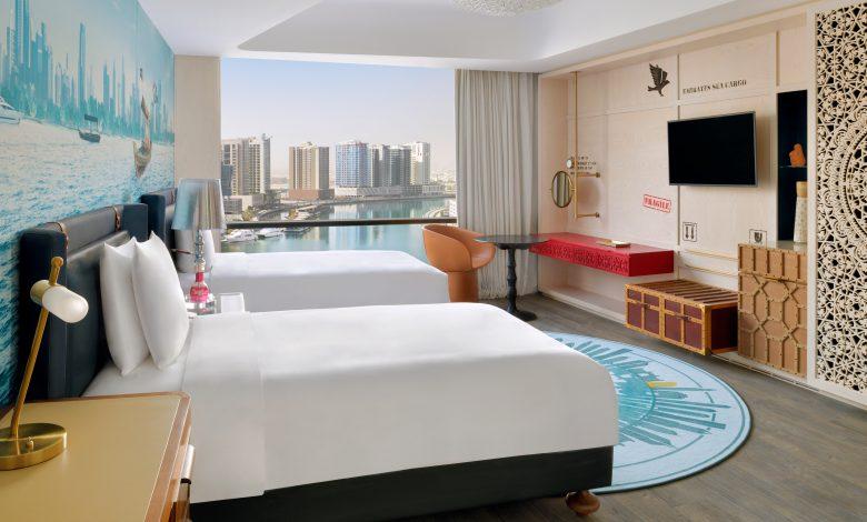 فندق هوتيل إنديجو دبي داون تاون يفتتح أبوايه رسمياًُ في دبي