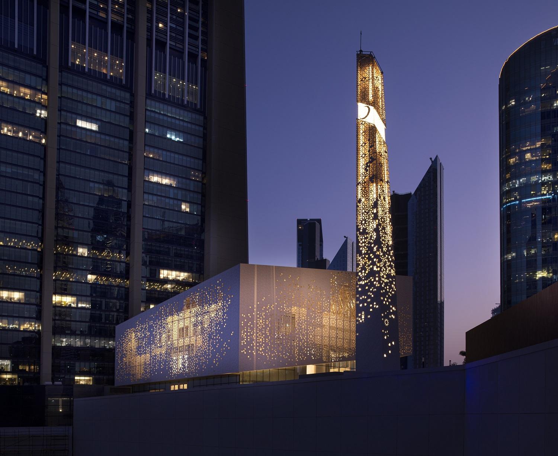مسجد مركز دبي المالي العالمي