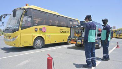 صورة اينوك لينك توفر خدمات تعبئة الوقود المتنقلة والآمنة للحافلات المدرسية
