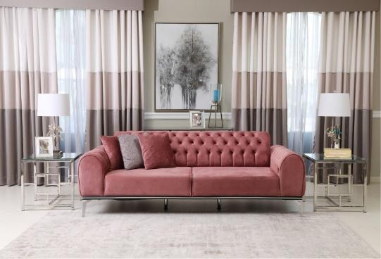 حول الإمارات للمفروشات المنزلية تطلق مجموعة اثاث باللون الوردي