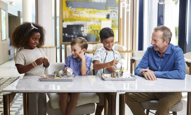جميرا بيتش هوتيل تطلق قائمة طعام جديدة للذوّاقة الصغار