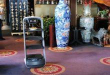 صورة مطعم قصر البحر في هولندا يحتضن روبوت تقديم الطعام الصيني PuduBot