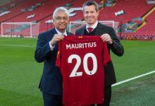 صورة رسمياً هيئة موريشيوس تتعاقد مع نادي ليفربول لكرة القدم
