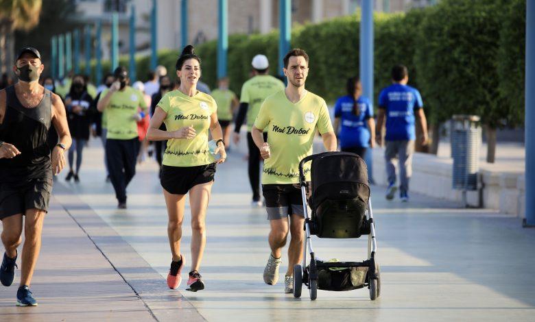 فعالية تحدي دبي للجري 2020 أسمى صور الوحدة في المجتمع الإماراتي