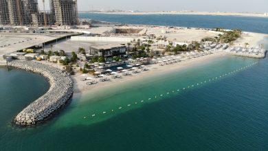 صورة رسمياً إفتتاح شاطئ ميكرز ديستركت على جزيرة الريم في أبوظبي