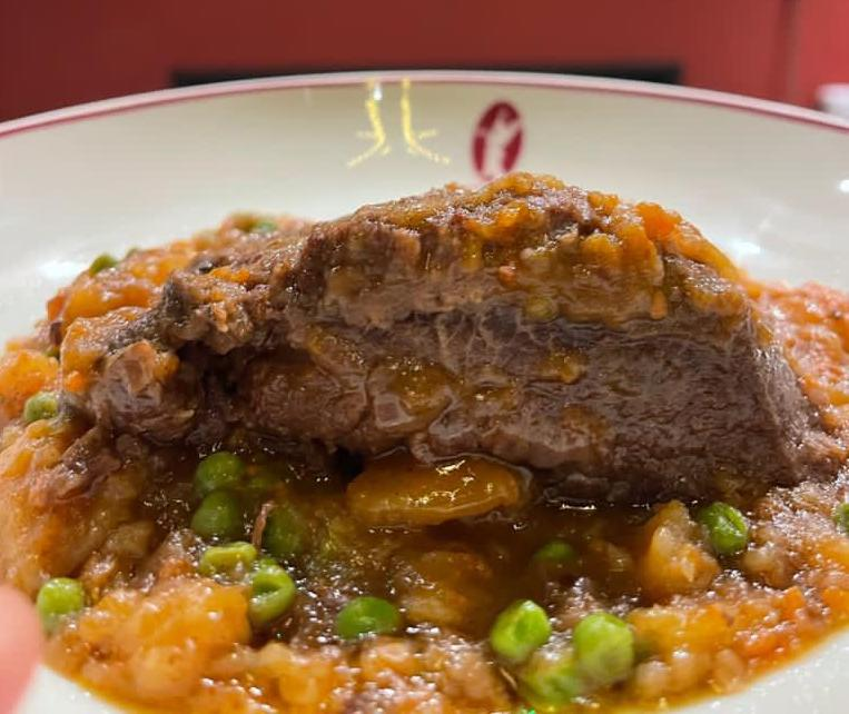 Luigia – Beef Cheek with potatoes and Beans