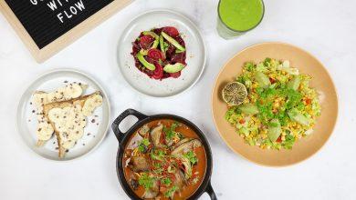 مطعم فلو يطلق برنامج وجبات ڤيجان لمتتبعي النظام الصحي
