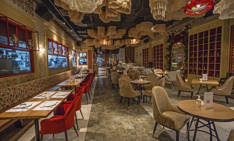 مطعم وحديقة ماتروشكا