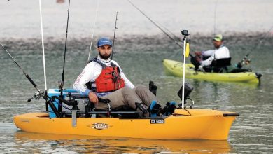 بطولة دبي لصيد الأسماك بقوارب الكاياك والقوارب الكهربائية 2021