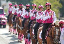 مسيرة فرسان القافلة الوردية