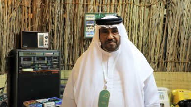 معرض سعيد أحمد الخشري سيعيدكم إلى ذكريات الزمن الجميل