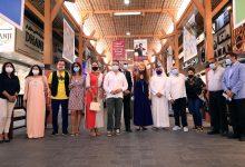 سوق الذهب بدبي تحتضن معرض سكاي آرت الفني 2021