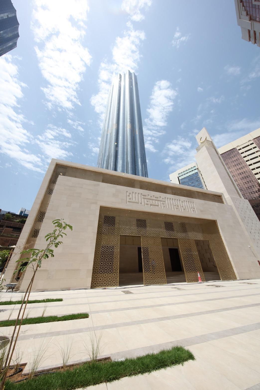 مسجد المركز التجاري العالمي أبوظبي