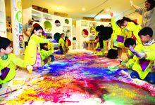 مركز الجليلة تنظم معرض و ورشات فنية خلال هذا الأسبوع