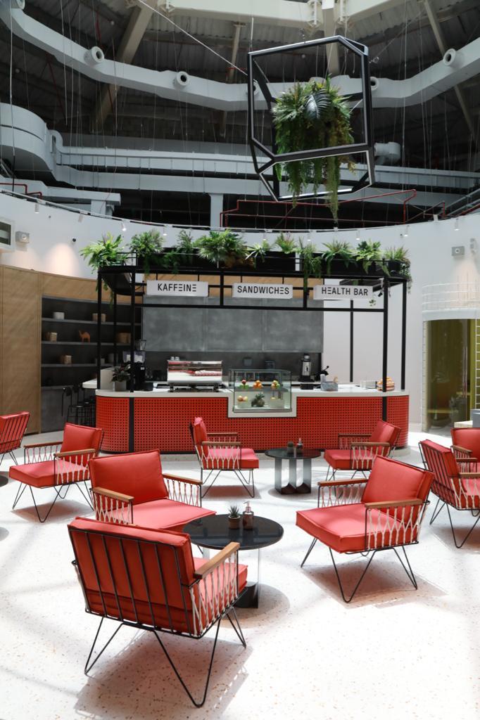 مقهى أراوند ذا بلوك