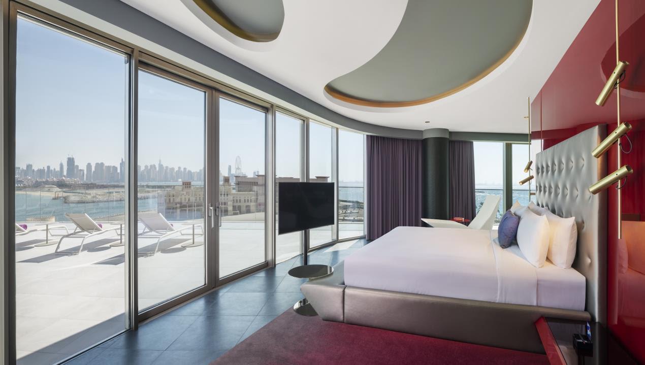 فندق دبليو دبي – النخلة