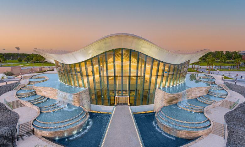 3 – Deep Dive Dubai – Oyster shaped design