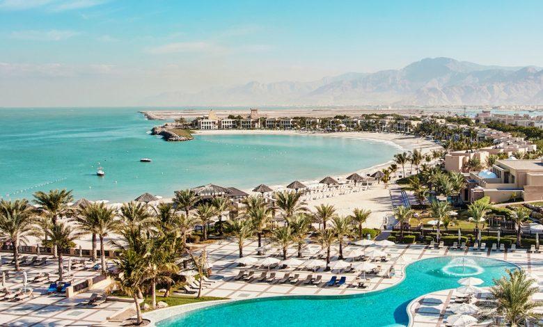 Hilton RAK Resort – panoramic view