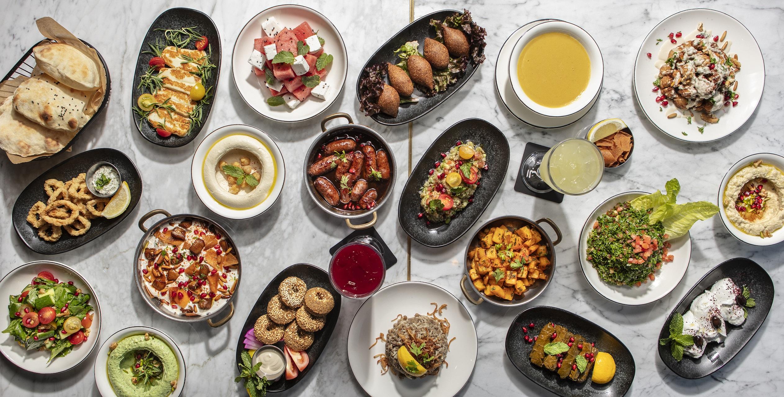 المطعم اللبناني الشهير البيروتي