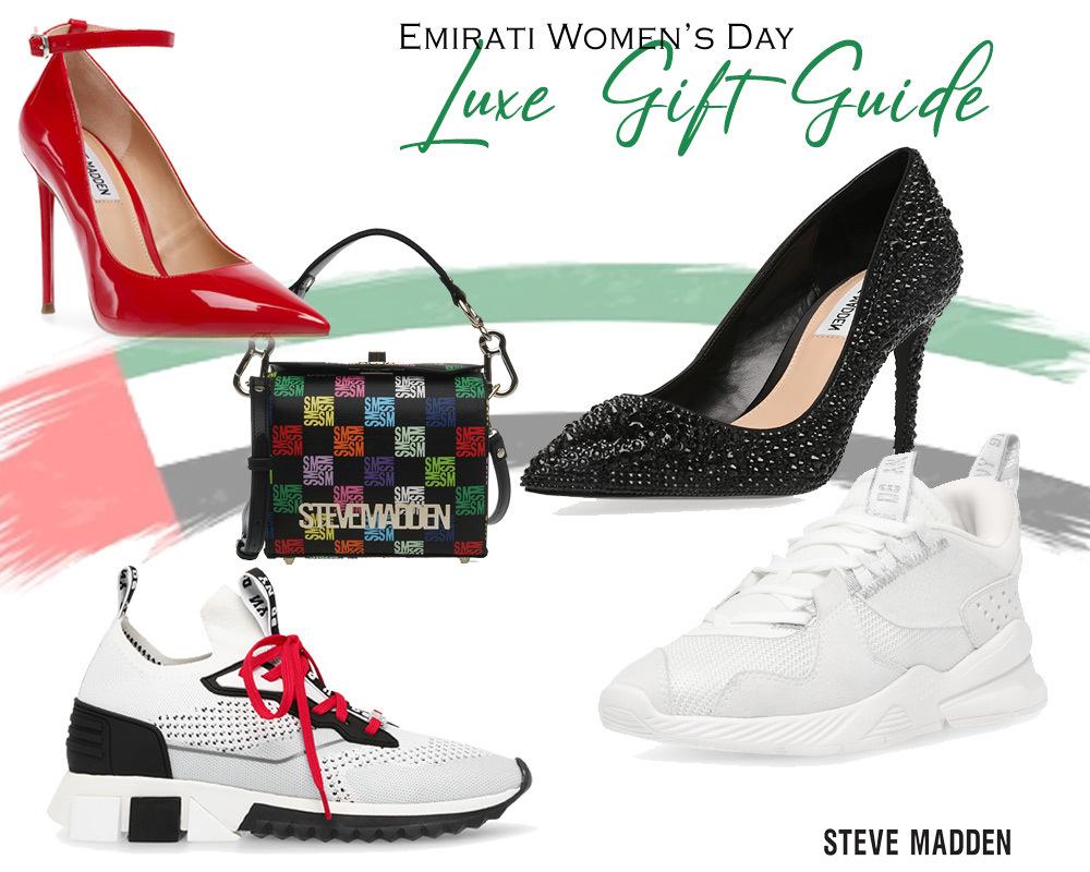 يوم المرأة الإماراتية مع ستيف مادن