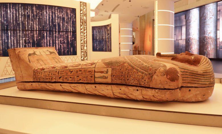 مصر تستعد لعرض تابوت فرعوني أثري ضمن جناحها في اكسبو دبي