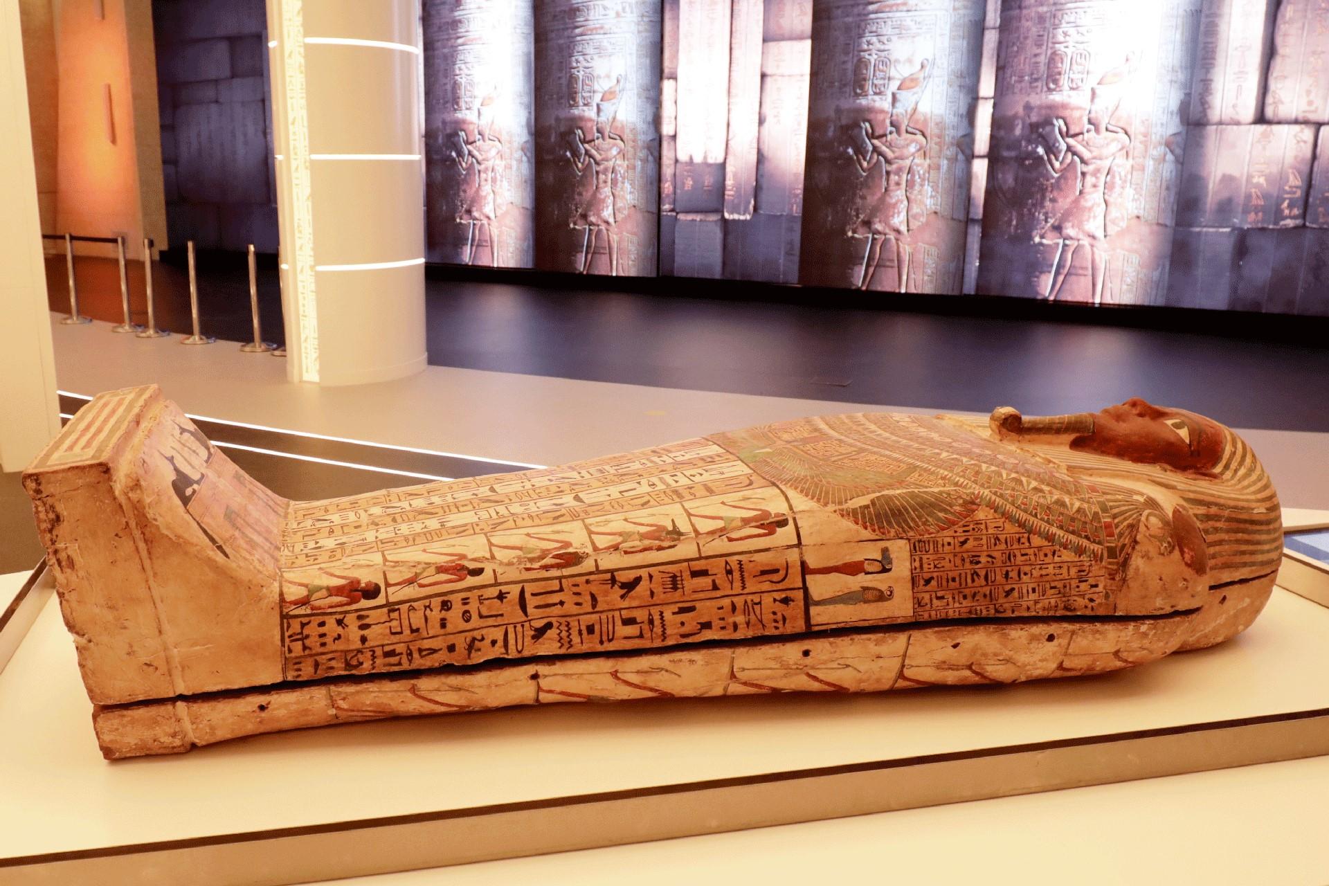 تابوت فرعوني