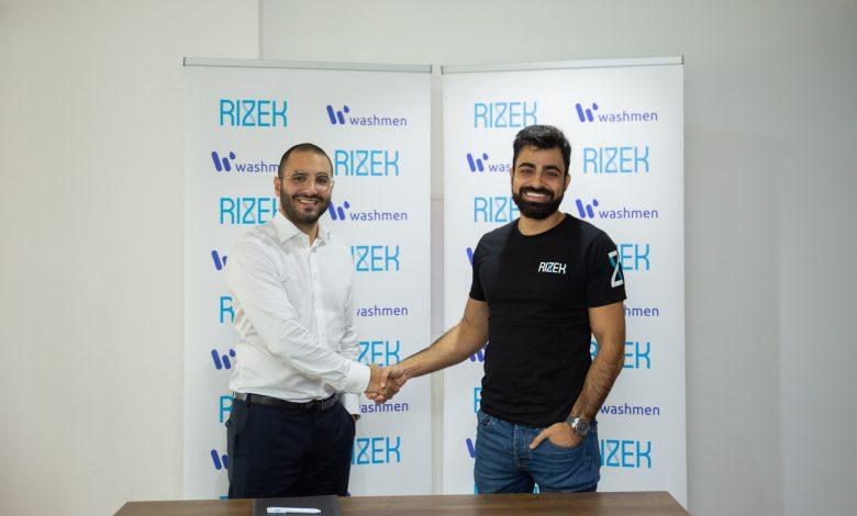 Rizek partnership with Washmen