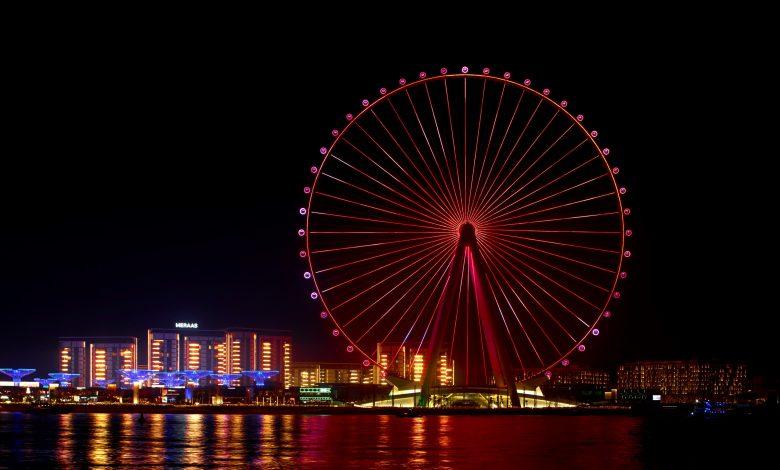 عين دبي تنظم احتفالية عطلة نهاية الأسبوع بالتزامن مع إفتتاحها الرسمي