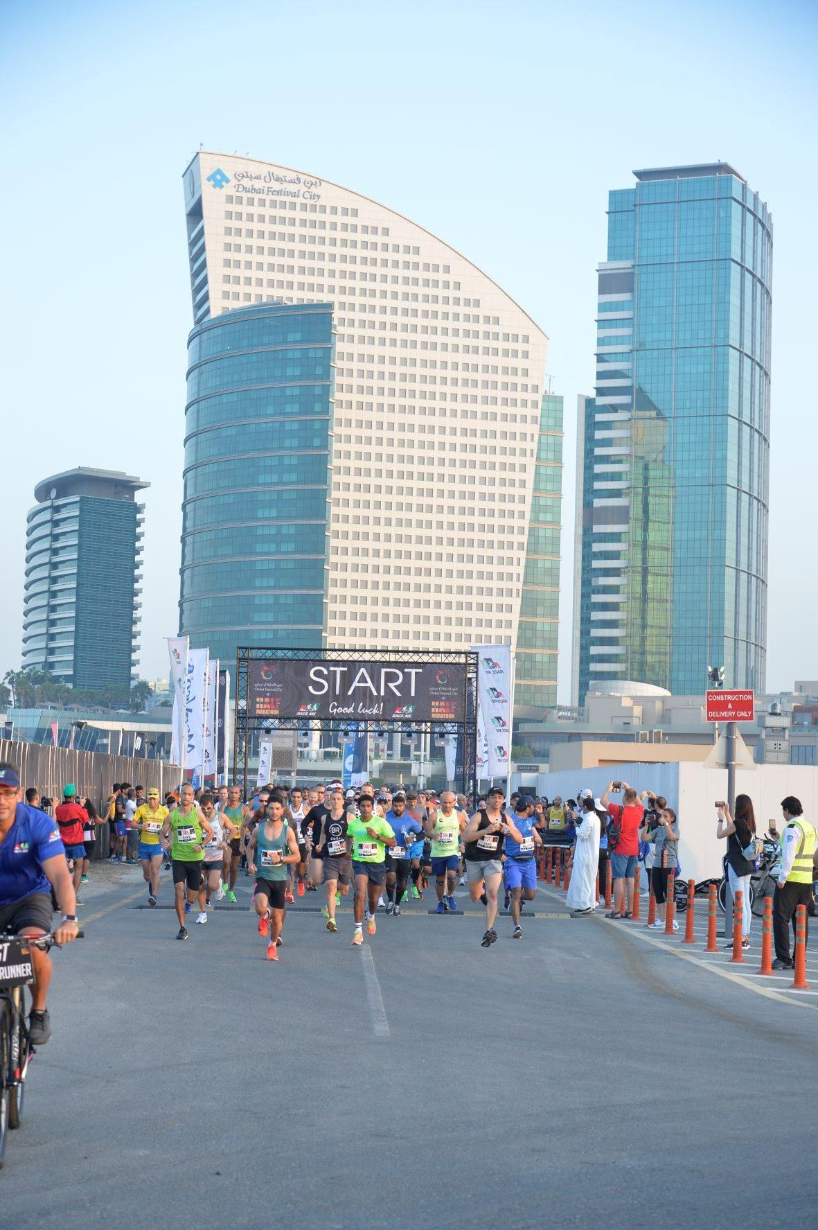 ترقبوا الموسم الثالث من سباق نصف ماراثون دبي فستيفال سيتي 2021