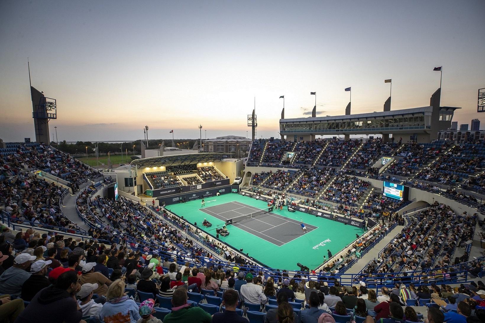 أبوظبي تستضيف بطولة مبادلة العالمية للتنس 2021